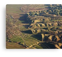 Farming Villages in Northern Afghanistan Canvas Print