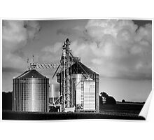 Midwest Structure B&W Poster