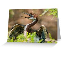 My EYES are bigger than my stomach!  Greeting Card