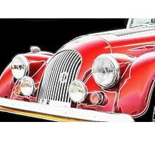 Morgan motor vehicle- classic car Photographic Print