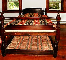 Early Trundle Bed by Pamela Phelps