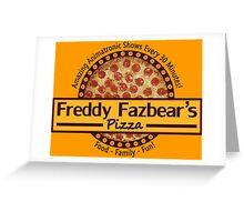 Freddy Fazbear's Pizza Greeting Card