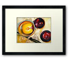 The Late Shift.... Framed Print