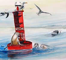 Permission to Come Aboard? Buoys will be buoys... by Rob Beilby