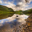 Lubnaig Reflections (3) by Karl Williams