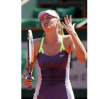 Maria Sharapova Photographic Print