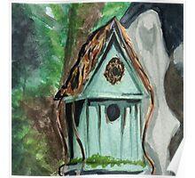 Tallac Birdhouse 2 Poster