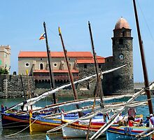 Collioure France by Baron Guibal J P Dip