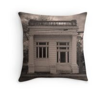 Marion Bank Throw Pillow
