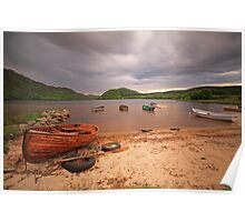 Loch Ruthven, Scottish Highlands. Poster