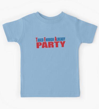 Tea Party Shirt Kids Tee