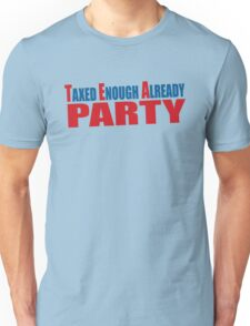 Tea Party Shirt Unisex T-Shirt