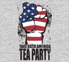 Take Back America Tea Party Shirt Kids Tee