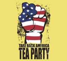 Take Back America Tea Party Shirt Kids Clothes