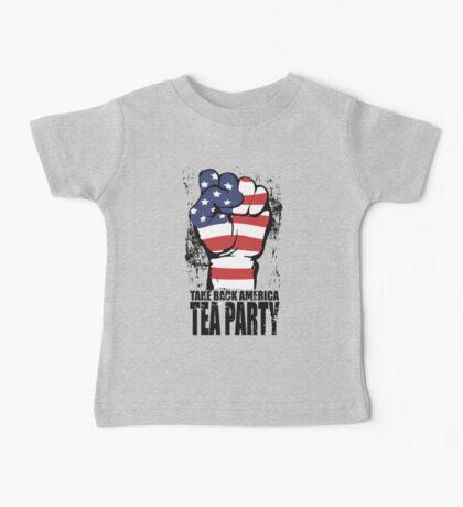 Take Back America Tea Party Shirt Baby Tee