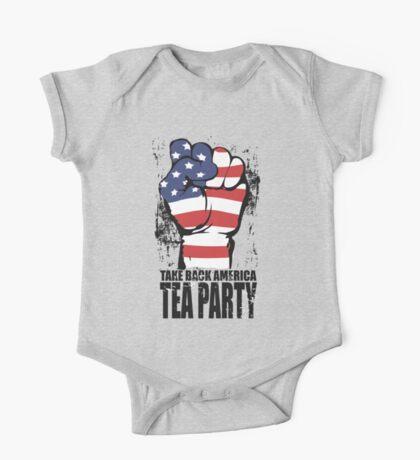 Take Back America Tea Party Shirt One Piece - Short Sleeve