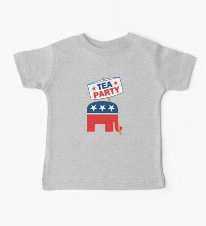 Tea Party Republican Shirt Baby Tee
