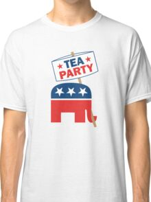 Tea Party Republican Shirt Classic T-Shirt