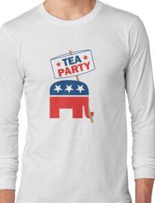 Tea Party Republican Shirt Long Sleeve T-Shirt