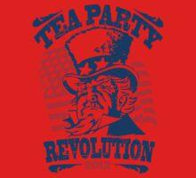 Tea Party Revolution Shirt One Piece - Short Sleeve