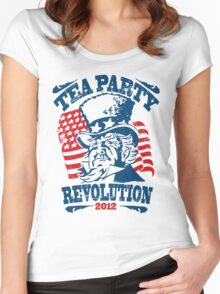 Tea Party Revolution Shirt Women's Fitted Scoop T-Shirt