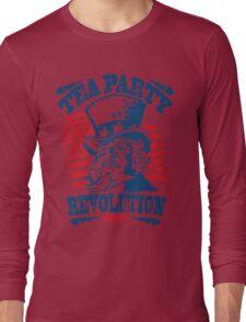 Tea Party Revolution Shirt Long Sleeve T-Shirt