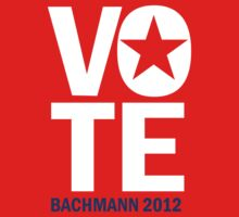 Vote Bachmann 2012 by RepublicanShirt