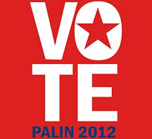 Vote Palin 2012 Unisex T-Shirt