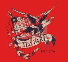 Tea Party T Shirt One Piece - Short Sleeve