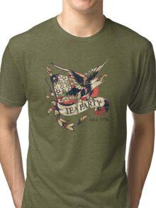Tea Party T Shirt Tri-blend T-Shirt