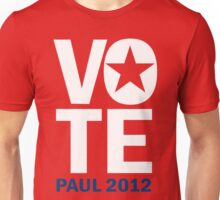 Vote Paul 2012 Unisex T-Shirt
