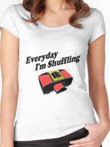 Everyday I'm Shuffling Women's Fitted Scoop T-Shirt
