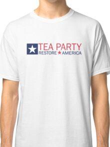 Tea Party Movement Shirt Classic T-Shirt