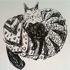 Kitty Doodle by Elorac