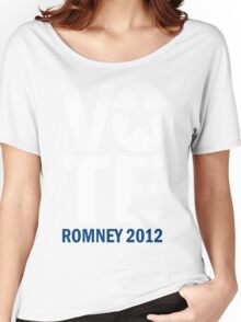 Vote Romney 2012 Women's Relaxed Fit T-Shirt