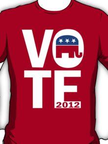 Vote Republican 2012 T-Shirt