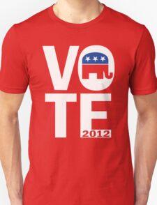 Vote Republican 2012 Unisex T-Shirt