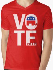 Vote Republican 2012 Mens V-Neck T-Shirt