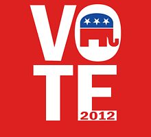 Vote Republican 2012 Unisex T-Shirt