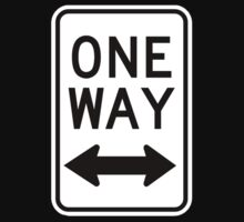One Way Sign (Which Way?) Kids Clothes