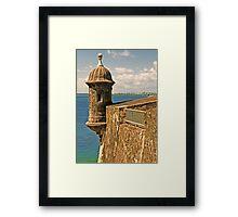 Castillo San Felipe del Morro - 2 Framed Print