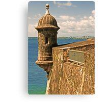 Castillo San Felipe del Morro - 2 Canvas Print