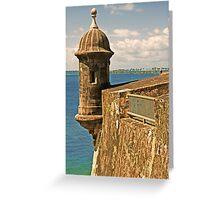 Castillo San Felipe del Morro - 2 Greeting Card