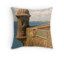 Castillo San Felipe del Morro - 2 Throw Pillow