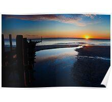 Norfolk Sunrise Poster