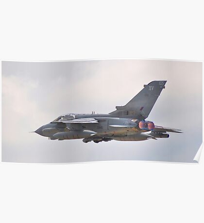 RAF Tornado Role Demo - Waddington Airshow 2011 Poster