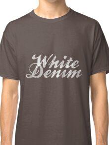 White Denim, White Ink Classic T-Shirt