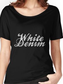 White Denim, White Ink Women's Relaxed Fit T-Shirt