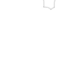 White Denim, White Ink Sticker