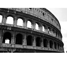 Before entering the Colosseum Photographic Print